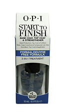 OPI Start To Finish Base Coat, Top Coat - Nail Strengthener, 0.5 oz (Pack of 9)