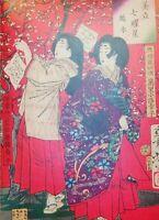 JAPANESE WOODBLOCK Print Painting Art Taiso Yoshitoshi ukiyo-e Hi Res jpg DVD.#4