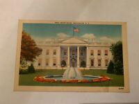 Vintage White House Washington DC Postcard