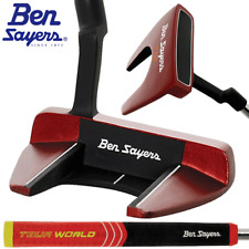 """NEW 2018"" BEN SAYERS XF RED NB1 34"" MALLET PUTTER +HEADCOVER & OVERSIZED GRIP"