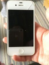 Apple iPhone 4/4S - 16GB - White (Unlocked) PARTS NOT WORKING