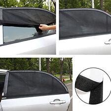 Auto Car Window Foldable Visor Sun Shade Mesh Windshield Cover Block 1Pair