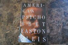 Vintage Contemporaries Ser.: American Psycho by Bret Easton Ellis (1991,.
