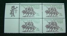 "1981""FREDERIC REMINGTON"" Plate Block Scotts #1934 18 Cent VF Mint Unhinged"