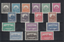 Hungary 1926 PENGO - FILLER I. full set MNH **