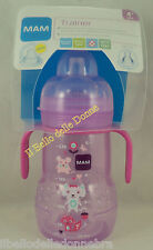 MAM Feeding bottles Cup TRAINER 220ml teat spout + anti-drop months 4+ blue