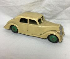 Vintage Dinky Toys Riley Cream with Green Hubs Made in England NO NUMBER Rare?