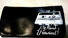 BE KIND REWIND ROLLING TOBACCO POUCH CASE WALLET CASETTE VIDEO TAPE PEN CLUB