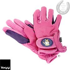 Toggi Medal Children's Colourful Riding Gloves – Hot Pink or Navy – FREE P&P