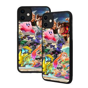 Super Smash Bros - Apple iPhone Premium Glass Phone Case