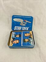 Vintage - Star Trek - Original Series - Playing Cards - Tin Box - 1992