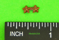 "Star Bronze campaign/battle (3/16"") 2 in a row  Ribbon Bar Attachment Device"