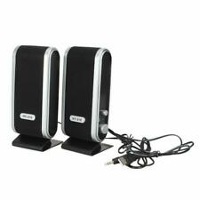 3.5mm 6W USB Power Laptop PC Computer Portable Speakers With Ear Jack