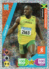 USAIN BOLT - PANINI LONDON 2012 OLYMPICS ADRENALYN XL ATHLETICS JAMAICA RARE