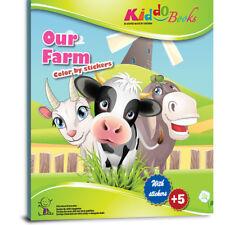 QuackDuck Malbuch Our Farm - Tiere auf dem Bauernhof - Malen mit Aufkleber