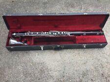Bundy Selmer Plastic Contra Alto Clarinet W Case