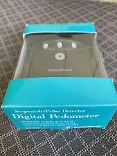 NEW RadioShack Digital Pedometer Step Counter In Black *Needs New Battery