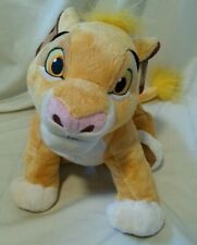 "DISNEY - Lion King Simba Disney Parks Official Soft Plush Toy 12"" Tall Collector"