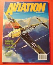 AVIATION MAGAZINE  NOV/1993..HARTMANN: ALL-TIME ACE - HIS PERSONAL PHOTOS