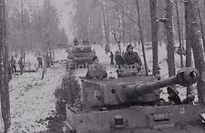 WW2 Picture Photo 1943 Tiger I heavy tank 2nd SS Panzer Das Reich Ukraine 2222