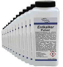 12kg (12x1000g) Entkalker Pulver für Wasserkocher Spülkasten Kaffeemaschine