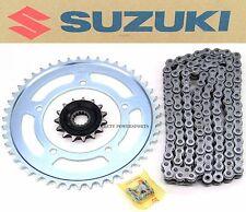 Genuine Suzuki Chain and Sprocket Drive Kit Vstrom DL650 04-15 (see notes) #R144