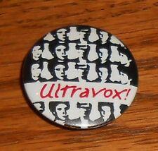 Ultravox! Button Pin Original Promo 1 1/4� Rare