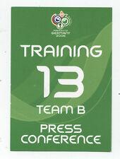 Orig.Ticket    WM Deutschland 2006   FRANKREICH - SCHWEIZ // Pressekonferenz  !!