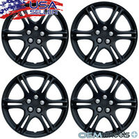 "15"" Inch Hubcaps Wheel Covers Hub Caps Steel Wheels Retention Ring New Set of 4"