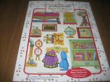 Vintage 2000 Mary Engelbreit Paper Dollhouse Accessories Magnetic NEW 2 of 3 Dif