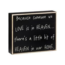 Primitive Wood Sign - Someone We Love in Heaven - Rustic Country Collins