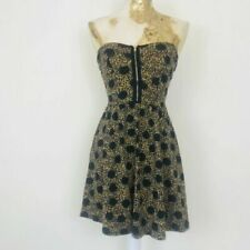Topshop Strapless Dresses Fit & Flare for Women