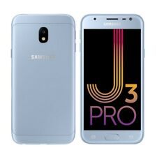 SAMSUNG GALAXY J3 PRO DUAL SIM (Unlocked) 16GB 4G LTE 5in 13MP SILVER BLUE 2017