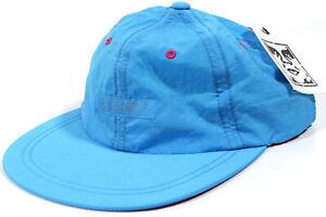 OBEY Propaganda Pangea 6 panel strapback Hat- NEW-teal/ pink summer baseball cap