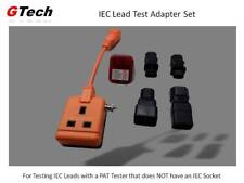 IEC Lead PAT Adapter + Adapters + Socket Tester - For Testers WITHOUT IEC Socket