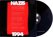 "QUEEN Roger Taylor 12"" Nazis 1994 1 UK PROMO Pic Sleeve 2 Track 45 RPM Kick Mix"