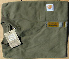 Carhartt Men's Workwear Pocket T-Shirt  Army Green Medium Regular