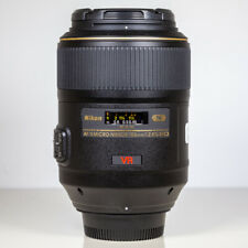 Nikon 105mm f/2.8 G AF-S VR Micro Macro Lens Boxed