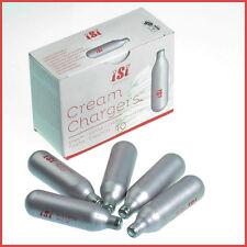 4  Bulbs  iSi Cream  Charger Cartridge Whipper Whip  N2O Nitrous Oxide Whipped