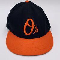 Baltimore Orioles O's MLB New Era 59FIFTY Official On Field Cap 7 1/4 EUC
