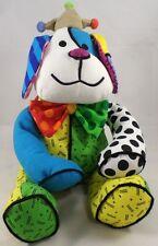 "ROMERO BRITTO 'Royalty Dog' Soft Plush Stuffed Animal 12"" Puppy Dog Toy *NWT*"