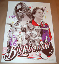 Joshua Budich The Big Lebowski Poster Way out west there was this fella Print PP