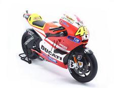 Maisto 1:6 Ducati 2011 Desmosedici MotoGP Model #46 Valentino Rossi New In Box
