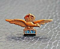RAF Royal Air Force Lapel Pin Cap Badge miniature HM Army Forces