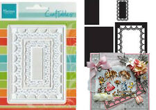 "MARIANNE CRAFTABLES DIES - PASSE_PARTOUT ""RECTANGLE"" CR1242 CARDS & SCRAPBOOKING"