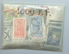 COLLECTION / LOT DE 1000 TIMBRES DE FRANCE OBLITERES DIFFERENTS
