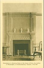Fredericksburg, VA Mantlepiece in Drawing Room, Mary Washington Home