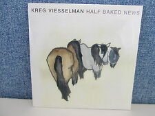 "KREG VIESSELMAN - HALF BAKED NEWS 7"" Vinyl (NEW 2011) Norway Folk Rock"