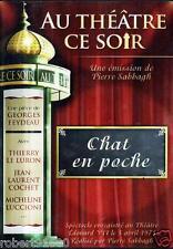 D.V.D../..THEATRE../..CHAT EN POCHE.../...THIERRY LE LURON....MICHELE LUCCIONI..