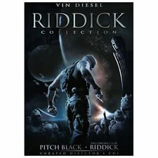 Riddick Collection (DVD, 2013, 2-Disc Set)